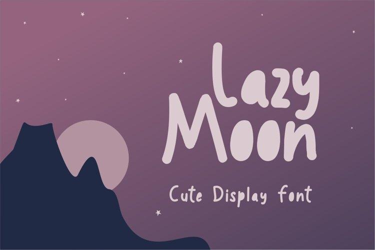 Lazy Moon example image 1
