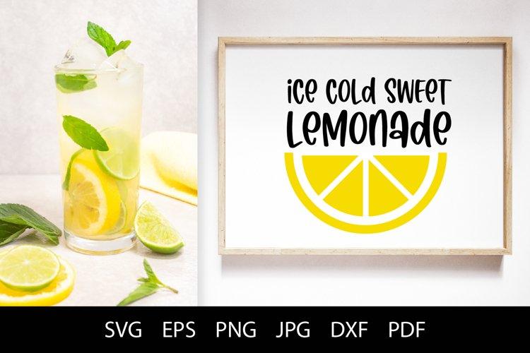 Lemon and Lemonade stand SVG Summer Cut Files