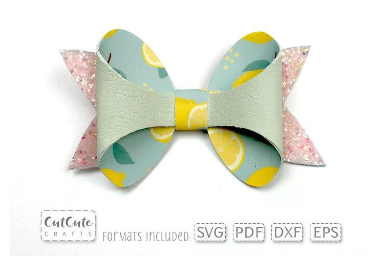 Lemon Bow SVG Templates cut files