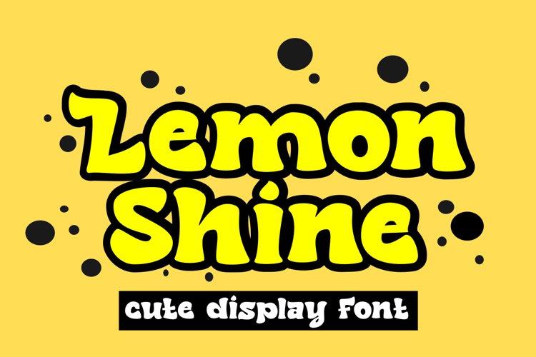 Lemon Shine example image 1