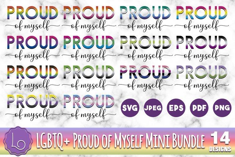 LGBTQ Proud of Myself Mini Bundle