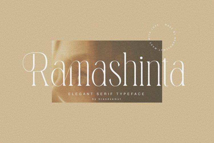 Ramashinta // Stylish Modern Serif example image 1