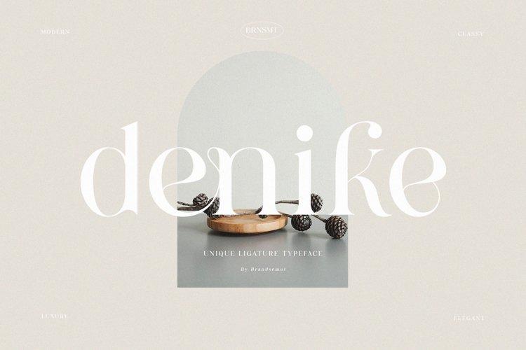Denike || Stylish Modern Serif example image 1
