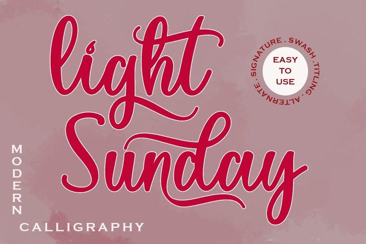 Light Sunday