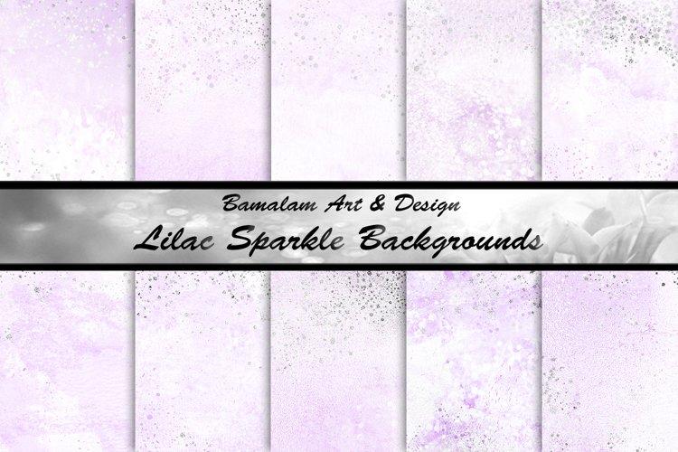 Lilac Sparkle Sublimation Backgrounds