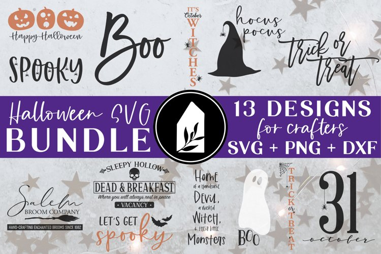 Halloween Bundle, Halloween SVG Bundle, Halloween Sign