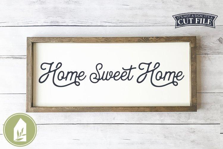 Farmhouse Sign, Home Sweet Home