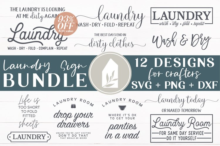Laundry Signs, Best Sellers Bundle, Laundry SVG, Farmhouse