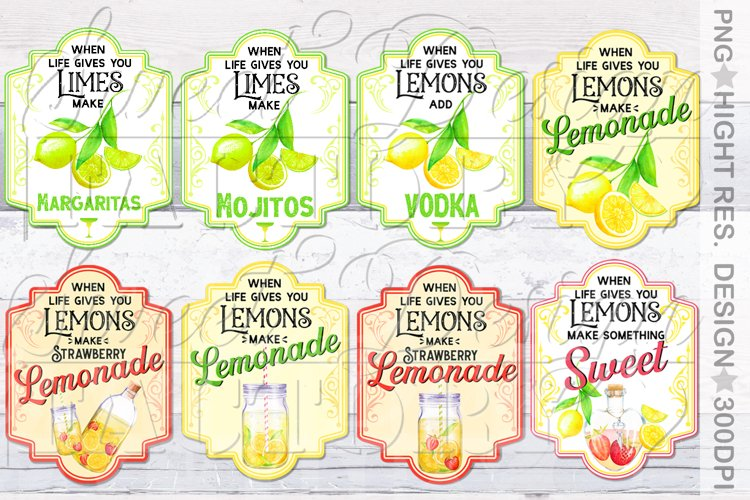 lemonade sublimation designs, mojito png, lemonade label,