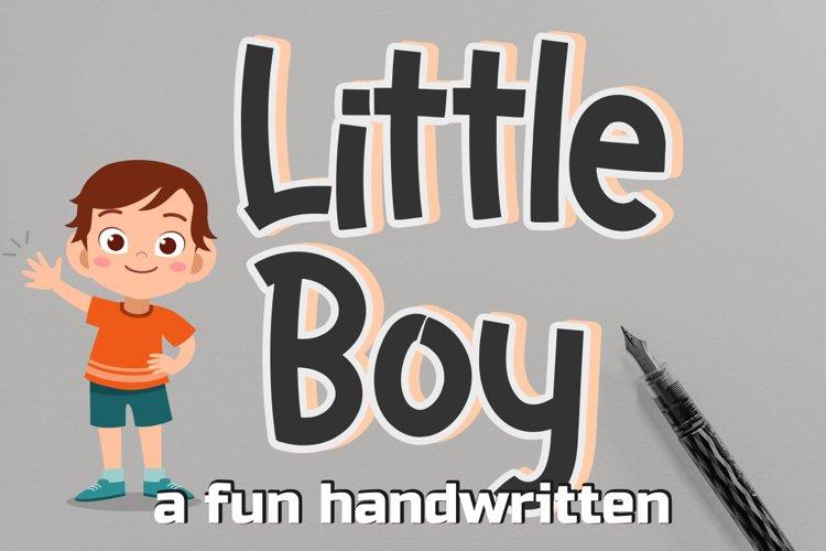Little Boy example image 1