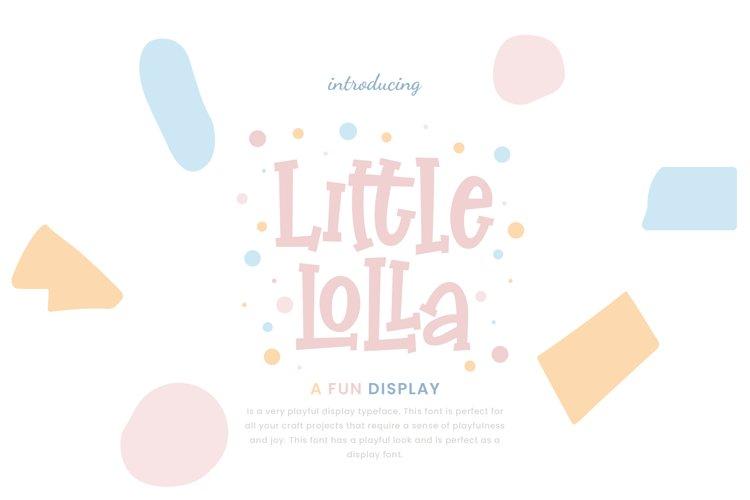 Little Lolla Fun Display example image 1