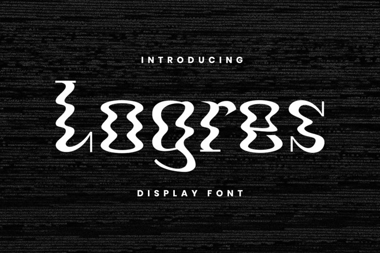 Web Font Logres example image 1