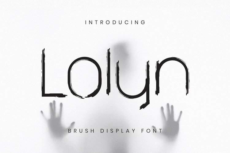 Web Font Lolyn example image 1