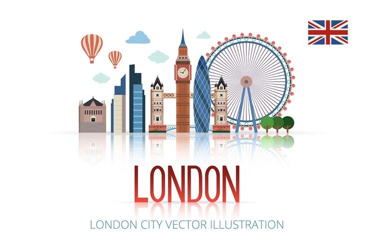 LONDON City Vector Illustration