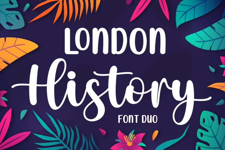 London History - Font Duo example image 1