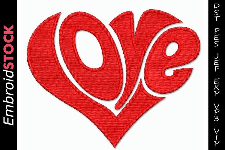 Love Letters Heart Shape