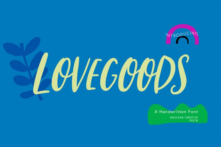 Lovesgoods Handwritten Font example image 1