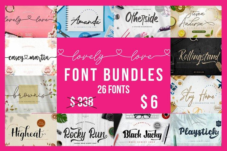 Lovely Fonts Bundle