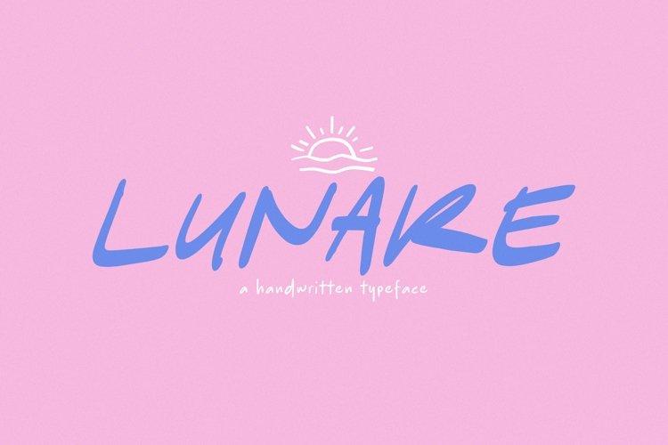 Web Font Lunare example image 1