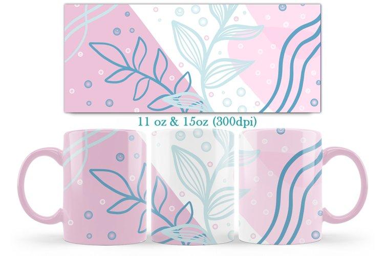 Abstract Design Mug Sublimation-11oz & 15oz