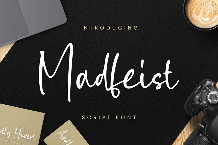 Web Font Madfeist Font example image 1