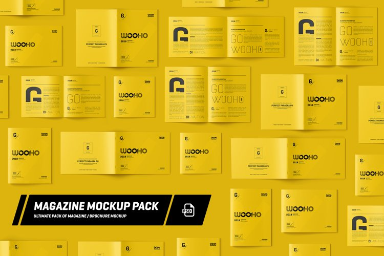Magazine / Brochure Mockup Pack