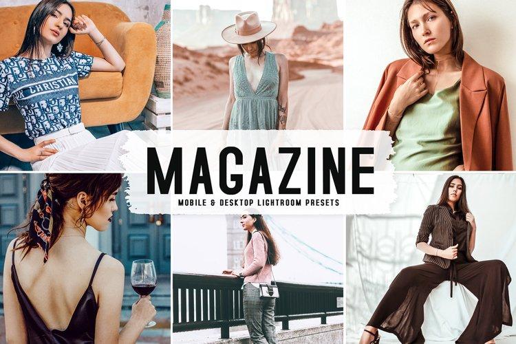 Magazine Mobile & Desktop Lightroom Presets example image 1