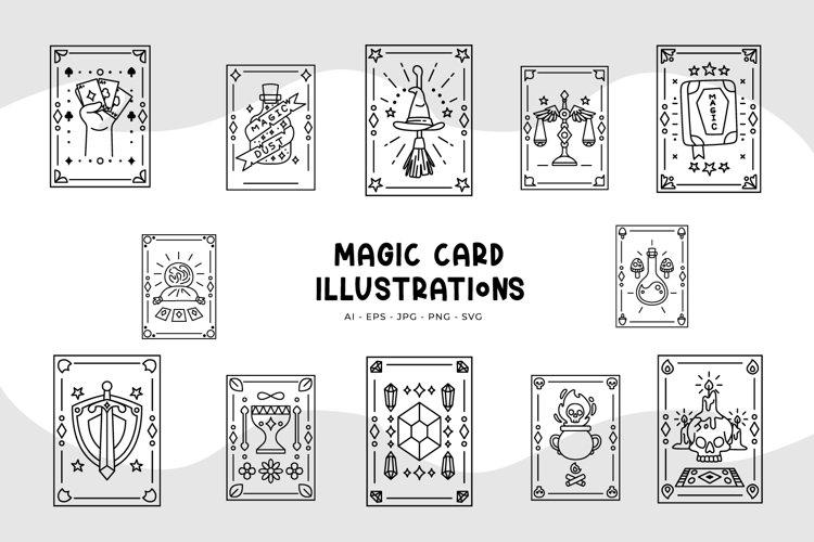 Magic Card Illustrations