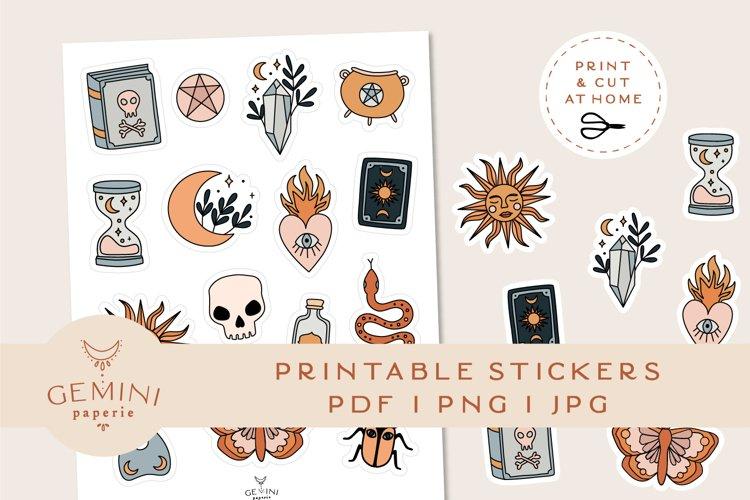 Magic Printable Stickers | Cricut Design Sticker Sheet example image 1
