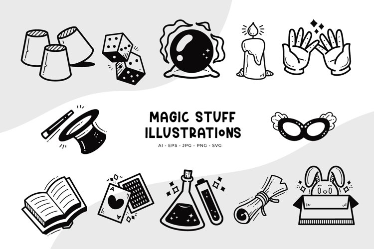 Magic Stuff Illustrations