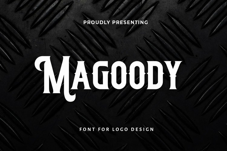 Web Font Magoody - Blackletter Font example image 1