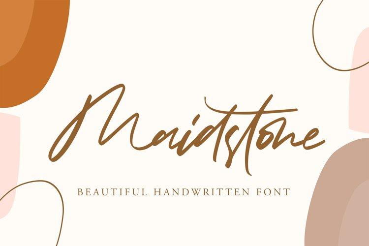 Maidstone - Beautiful Handwritten example image 1