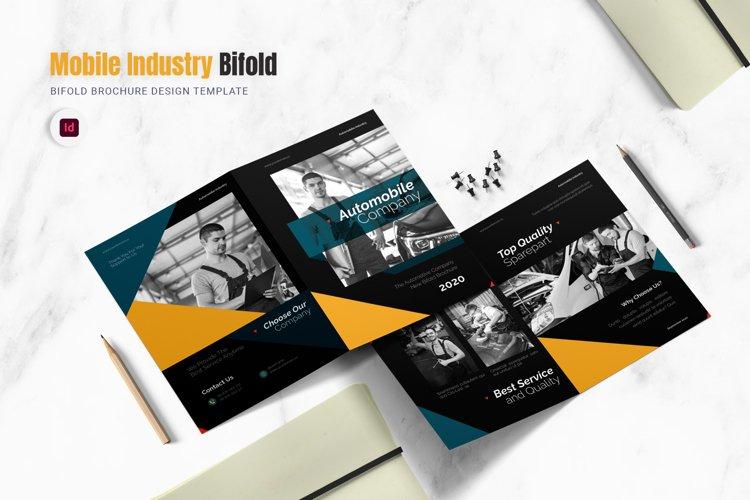 Auto Mobile Industry Bifold Brochure example image 1