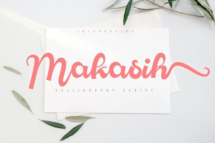 Makasih example image 1