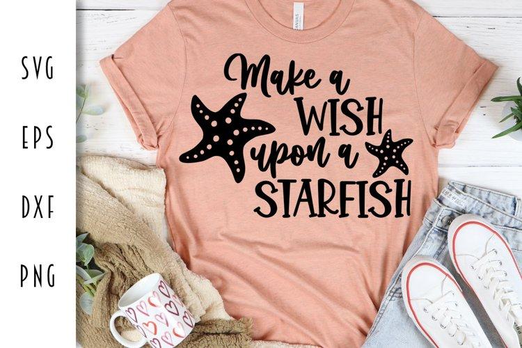 Summer Beach Cut File - Starfish SVG