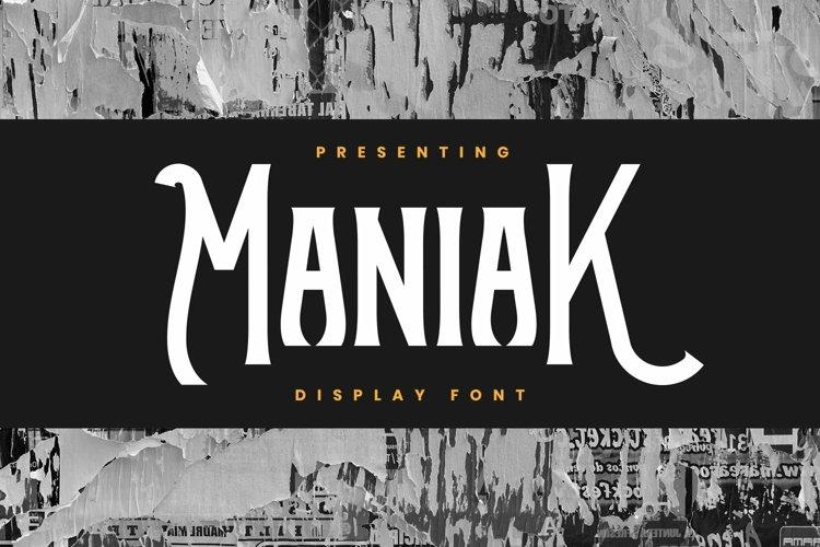 Web Font Maniak example image 1