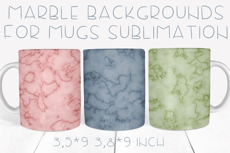 20 Marble backgrounds for mugs sublimation in png