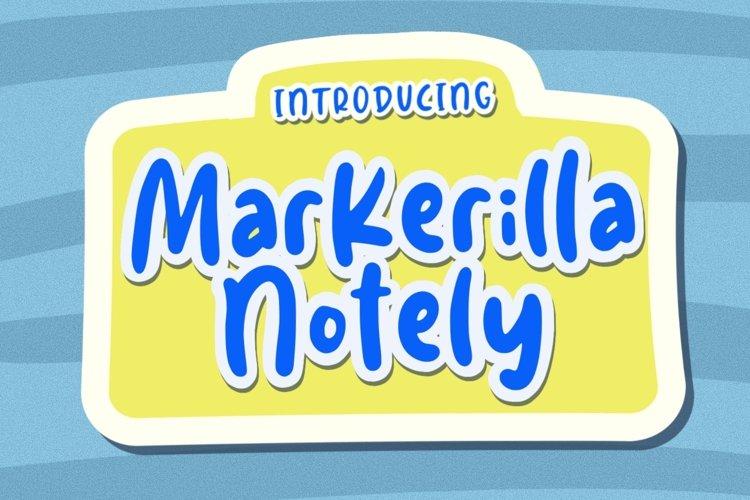 Markerilla Notely example image 1