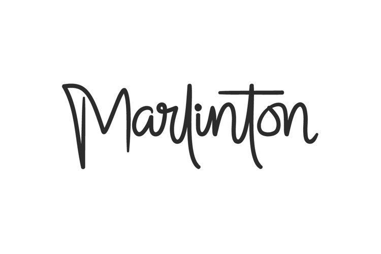 Marlinton example image 1