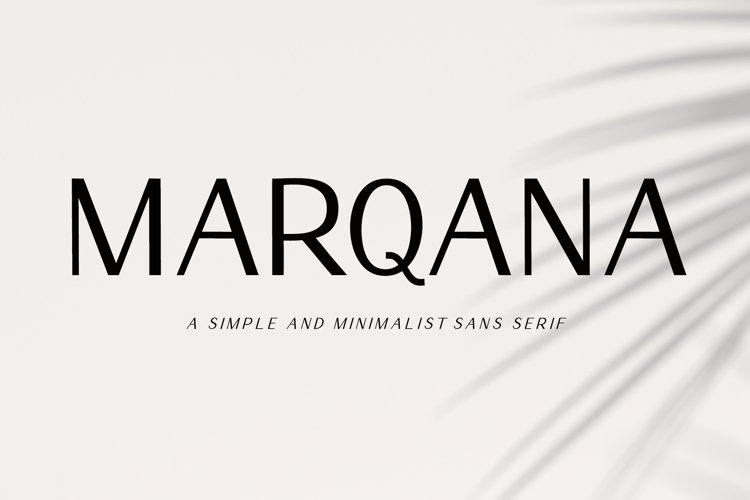 Marqana - Modern Sans Serif example image 1