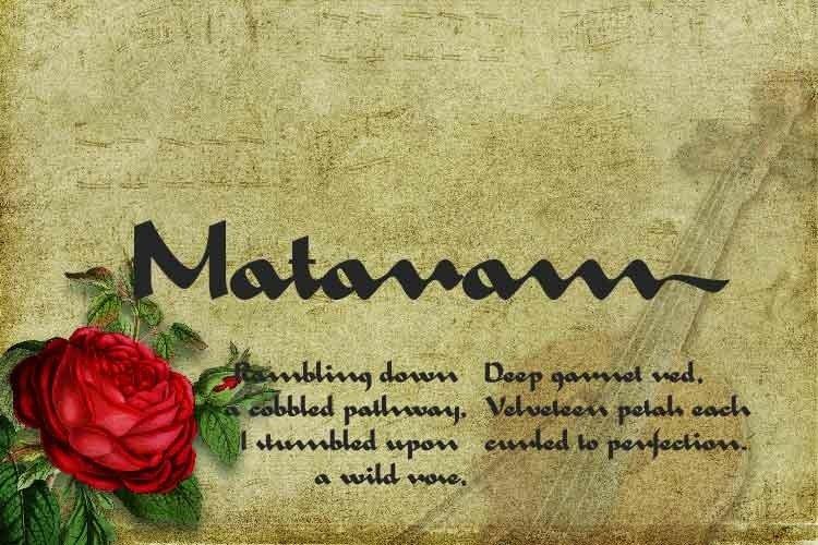 Mataram example image 1