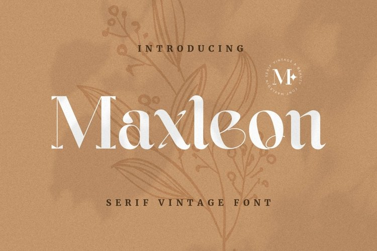 Web Font Maxleon