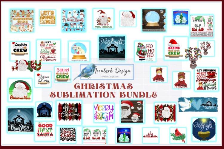 Christmas Sublimation Bundle - PNG Clip Art and Designs