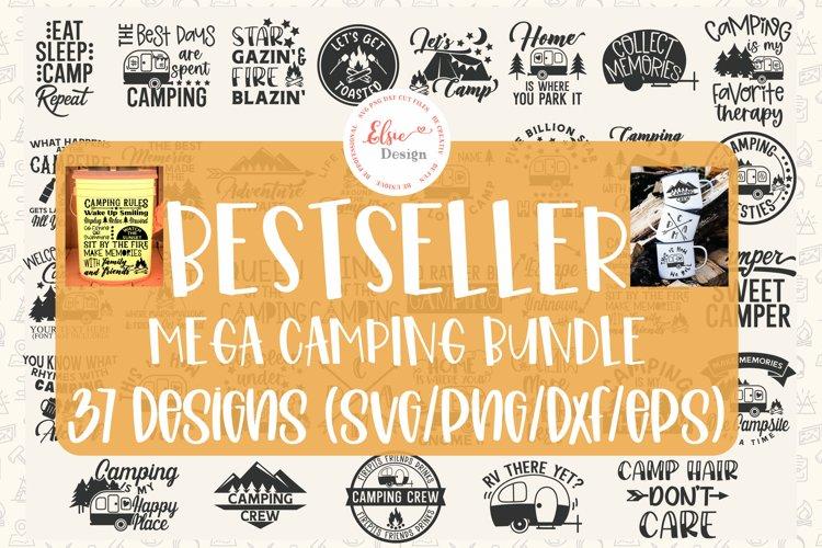 Bestseller Mega Camping Bundle SVG Cut Files