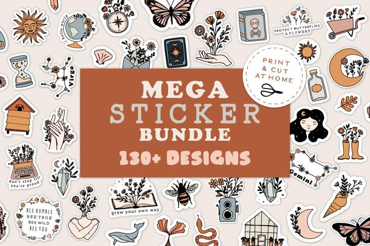 Mega Sticker Bundle | Printable DIY Sticker Bundle
