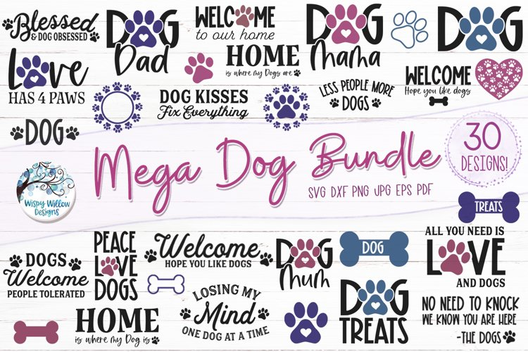 Mega Dog SVG Bundle