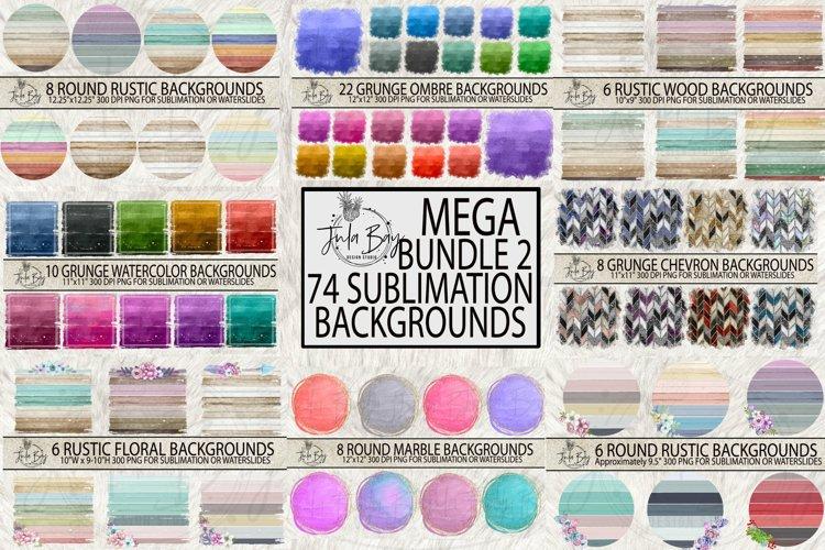 Best Sellers Sublimation Backgrounds Mega Bundle Grunge