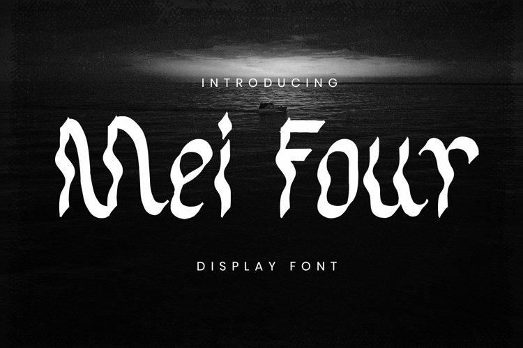 Web Font Mei Four