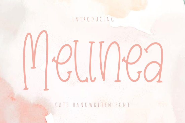 MelineaMelinea is a cute and charming handwritten font. Swee