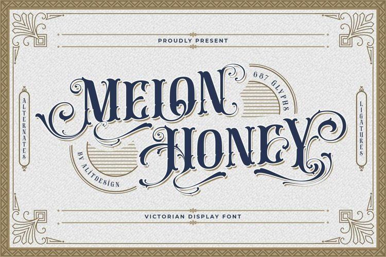 Melon Honey Typeface example image 1